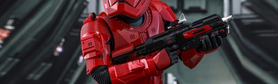HOT TOYS – Rise of Skywalker Sith Trooper Sixth Scale Figure