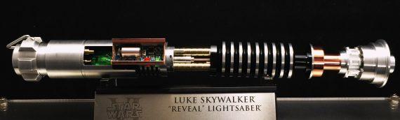 eFX Collectibles – Un exemplaire du très rare Luke Reveal lightsaber à la vente