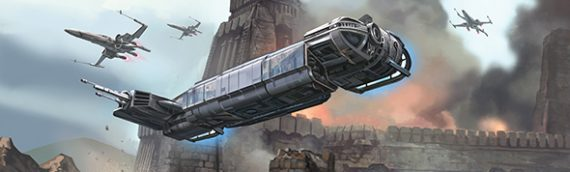 X-Wing Miniature : Le transport de la Resistance