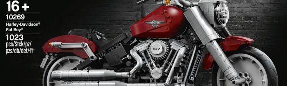 LEGO – 10269 LEGO CREATOR Harley Davidson Fat Boy