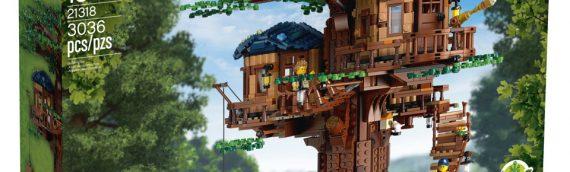 LEGO – 21318 LEGO Ideas Tree House est disponible