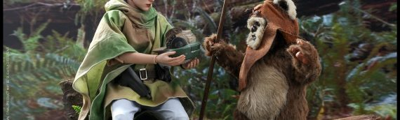 HOT TOYS – Leia (ENDOR) et Wicket Sixth Scale Figures disponibles en pré-commande