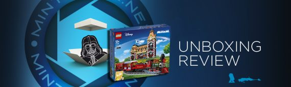 [Mintinbox opens the Box] LEGO Disney 71044 Disney Train & Station