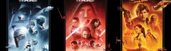 BLURAY – La saga et les spin-off Star Wars sont de retour