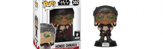 FUNKO POP – Hondo Ohnaka Exclu Disney Star Wars Galaxy Edge
