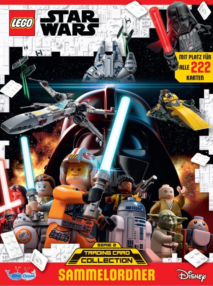 Présentation de la deuxième série de cartes à collectionner LEGO Star Wars... en Allemagne