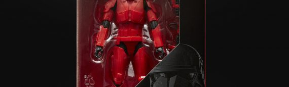 HASBRO – Le Sith Trooper The Black Series disponible en avant première à la D23