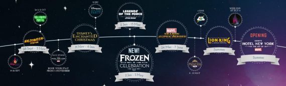 Disneyland Paris – Les Légendes de la Force du 11 janvier au 15 mars 2020