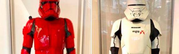 LUCASFILM – Les costumes de The Rise of Skywalker exposés dans les bureaux