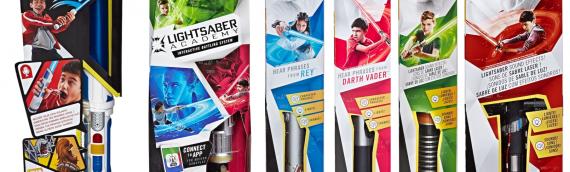 Hasbro – Masques et Sabres laser pour que vos padawans interprètent leurs héros