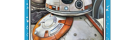 TOPPS – Star Wars Living Set BB-8 et 4-LOM