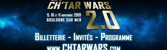 CH'tar Wars 2.0  – l'affiche du salon