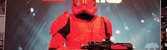 LEGO – Behind The Scene Sith Trooper Life-Size