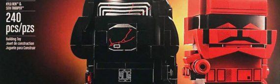 LEGO – BrickHeadz Star Wars 75232 Kylo Ren & Sith Trooper