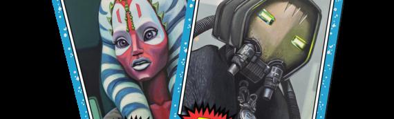 TOPPS – Deux nouvelles cartes pour Star Wars Living Set, 27 et 28