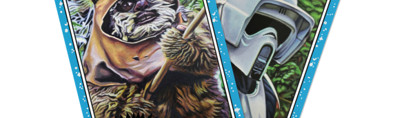TOPPS – Star Wars Living Set: Wicket (33) et Scout trooper (34)
