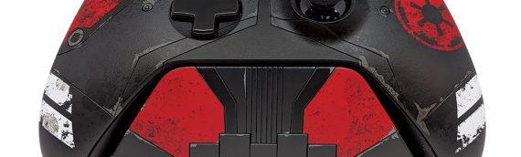 Manette et disque dur Xbox One : edition limitée Jedi fallen Order