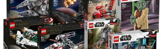LEGO Star Wars – Les sets de The Rise of Skywalker sont disponibles