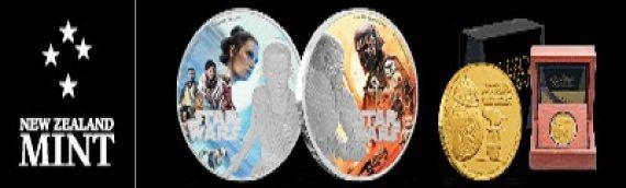 New Zealand Mint – 3 nouveaux coins exclusives pour le Triple Force Friday