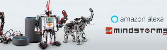 LEGO et Amazon s'associent pour le challenge LEGO MINDSTORMS Voice Challenge by Alexa