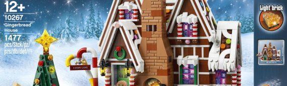 LEGO – 10267 La maison en pain d'épices est disponible