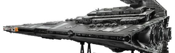 LEGO – Le set 75252 Star Wars Star Destroyer UCS se dévoile en vidéo