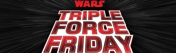 Triple Force Friday – Présentation en avant-première des produits par les acteurs.