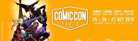 Paris Comic Con : Rendez-vous ce week-end à la halle de la Villette à Paris
