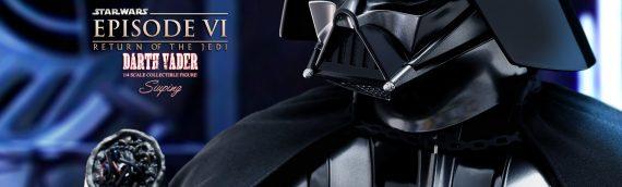 HOT TOYS dévoile la version de production de Darth Vader Quarter Scale Figure version ROTJ