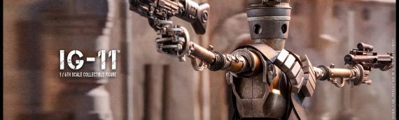 HOT TOYS : IG-11 from The Mandalorain Sixth Scale Figure