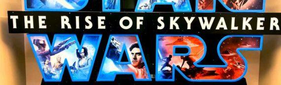 The Rise of Skywalker – Les PLV débarquent dans les cinémas