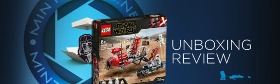 [Mintinbox opens the Box] LEGO Star Wars 75250 Pasaana Speeder Chase