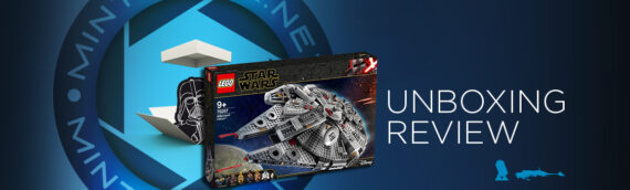 [Mintinbox opens the Box] LEGO Star Wars 75257 Millennium Falcon