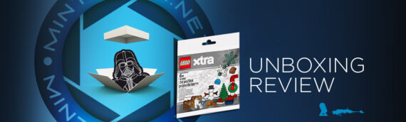 [Mintinbox opens the Box] LEGO XTRA Christmas Accessories