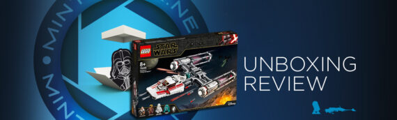 [Mintinbox opens the Box] LEGO Star Wars 75249 Resistance Y-Wing Starfighter