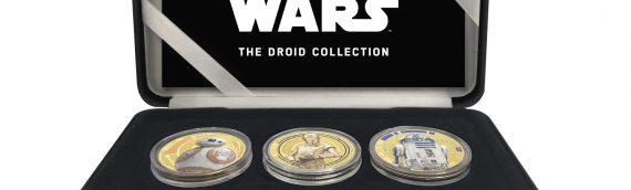 Coins – Les 3 droïdes de la saga réunis dans un beau coffret.