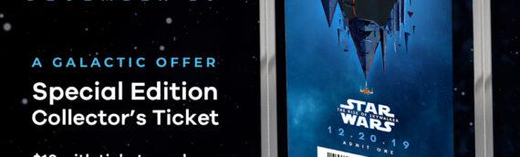 Star Wars – The Rise of Skywalker un ticket collector aux Etats-Unis