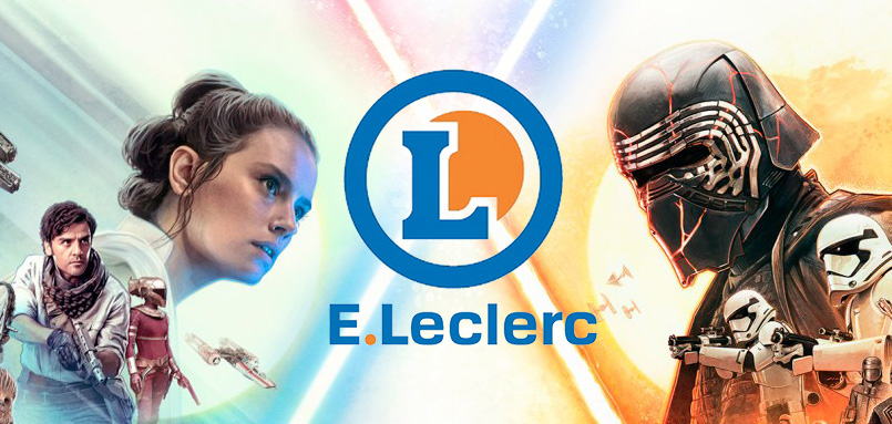 Leclerc Les Stickers à Collectionner Star Wars The Rise Of