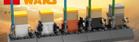 LEGO – Les instructions du mini-set Luke Skywalker Chronologie sont disponibles