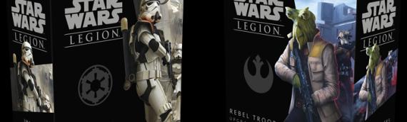 Fantasy Flight Games/Legion  – Nouvelle extension pour vos troupes Rebelles et Impériales