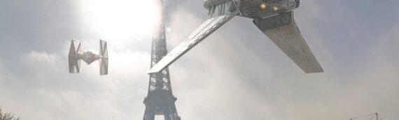 Exposition –  Imaginez des vaisseaux et des personnages de la Saga dans les rues de Paris