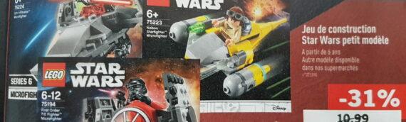 Magasins LIDL : Des figurines Hasbro et des mini-sets Lego sont disponibles