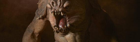 Sideshow Collectibles – La statue du Rancor se dévoile
