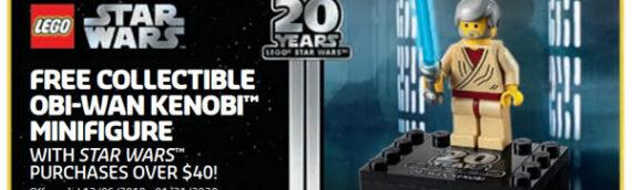 LEGO – Le polybag d'Obi-Wan Kenobi 20th Anniversaire offert en décembre aux Etats-Unis