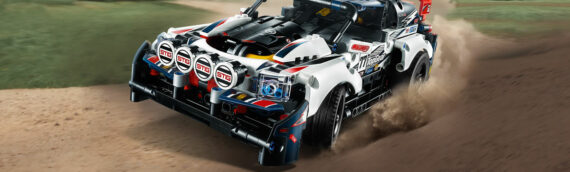 LEGO – TECHNIC 42109 Top Gear Rally Car