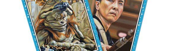 TOPPS – Star Wars Living Set: Salacious Crumb (45) Chirrut Îmwe (46)