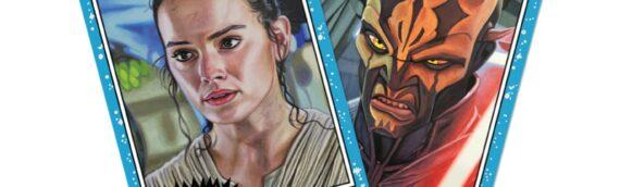 TOPPS – Star Wars Living Set: Rey (47) Savage Opress (48)