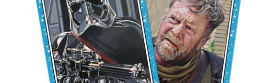 TOPPS – Star Wars Living Set: Phasma (49) et Cliegg Lars (50)