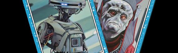 TOPPS – Star Wars Living Set: L3-37 (51) et Nute Gunray (52)