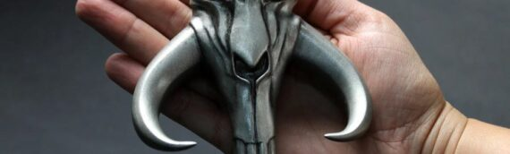 "Regal Robot – The Mandalorian ""Mythosaur skull"" mini sculpt"